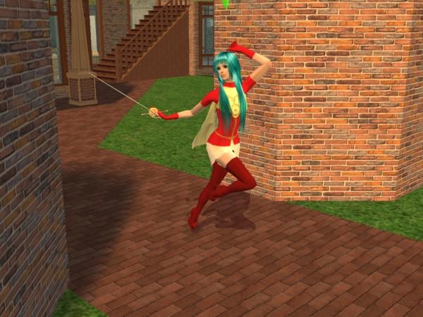 Eirika Fire Emblem Sims by Prince-Stephen