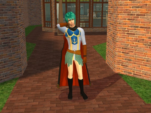 Ephraim Fire Emblem Sims by Prince-Stephen