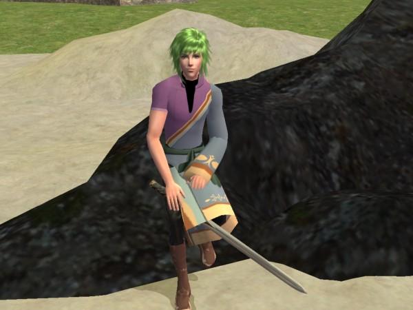 Stefan Fire Emblem Sims by Prince-Stephen