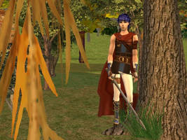 Ike Fire Emblem Sims by Prince-Stephen
