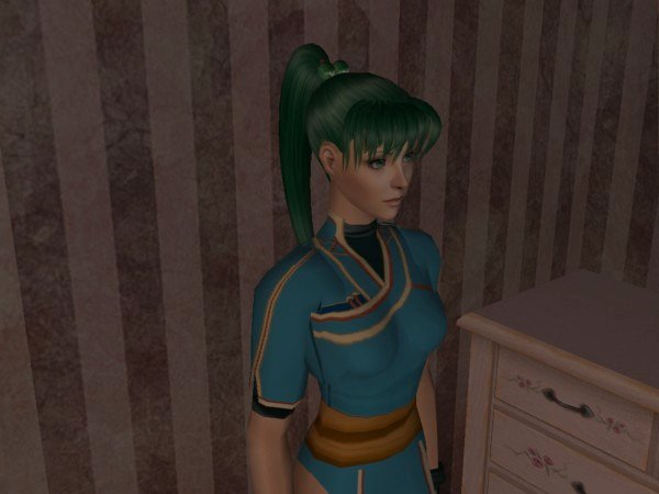 Lyn Fire Emblem Sims 2 by Prince-Stephen
