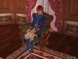 Eliwood Fire Emblem Sims by Prince-Stephen