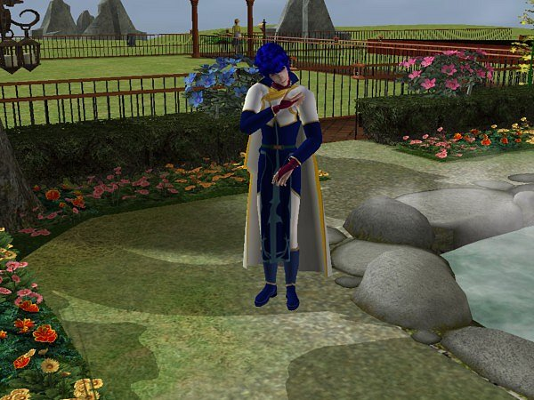 Pelleas Fire Emblem Sims by Prince-Stephen
