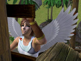 Pit SSBB Sims 2 by Prince-Stephen