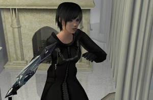 Xion Kingdom Hearts Sims 2 by Prince-Stephen
