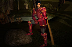 Zelgius Fire Emblem Sims by Prince-Stephen