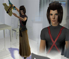 Terra Kingdom Hearts BBS Sims by Prince-Stephen