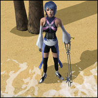 Aqua Kingdom Hearts BBS Sims by Prince-Stephen