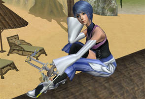 Aqua Kingdom Hearts BBS Sims 2 by Prince-Stephen