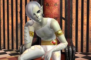 Lord Ghirahim Sims 2 by Prince-Stephen
