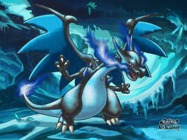 M-Charizard X / Pokemon Art Academy by Prince-Stephen