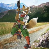 Cornerian Fox! by Prince-Stephen
