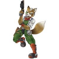 Cornerian Fox! No background by Prince-Stephen