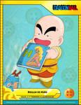 Kid Krillin  CARD 01 by luigicuau10