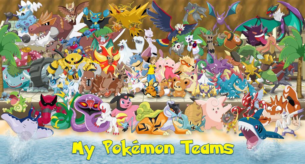 My Pokemon Teams Luigicuau