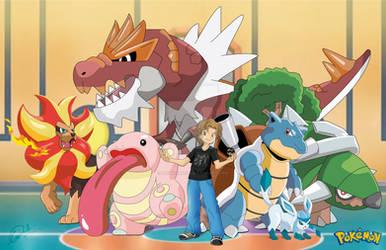 My Pokemon Team by luigicuau10