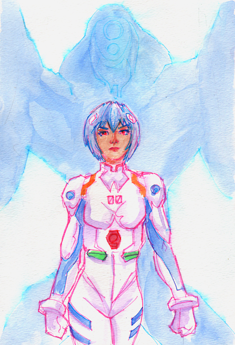 Rei Ayanami by photon-nmo