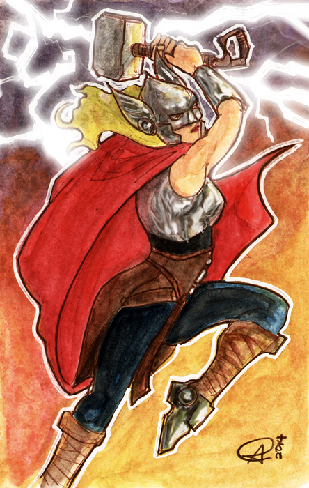 The New Thor by photon-nmo