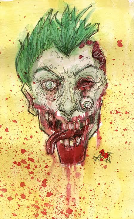 Zombie Joker by photon-nmo