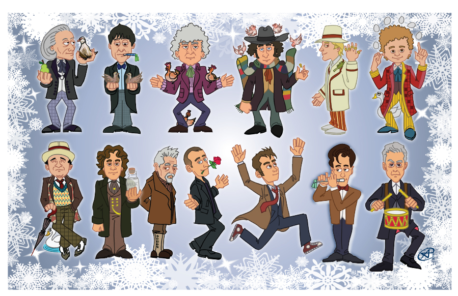 12 Days of Doctors with War Doctor by photon-nmo