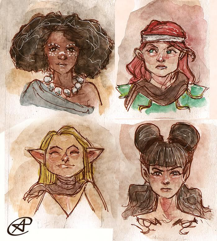 RAT QUEENS by photon-nmo