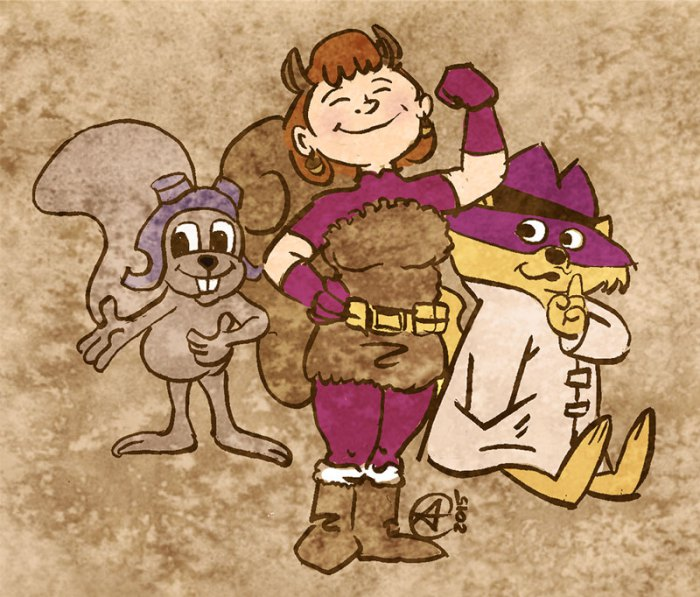 The Unbeatable Squirrel Girl and Friends by photon-nmo