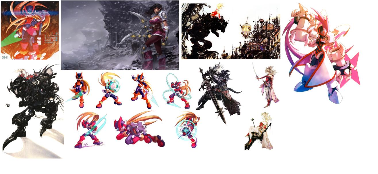 Assorted References For Fantasy Art by DarkMatterGod