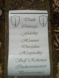 Nine Noble Virtues by poorventrue