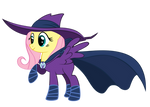Unmasked Fluttershy: with mask