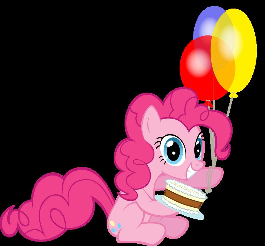birthday pony clipart