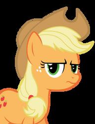 Grumpy Applejack