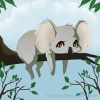 Koala by HidesBehindThings