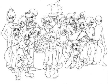 Inkling Party Group picture by ReD-HearT-DroP