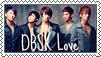 Stamp DBSK by pistra