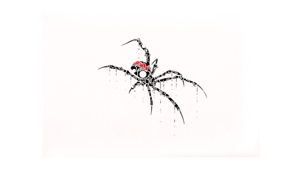 Black Widow Spider By Thomasontube On Deviantart
