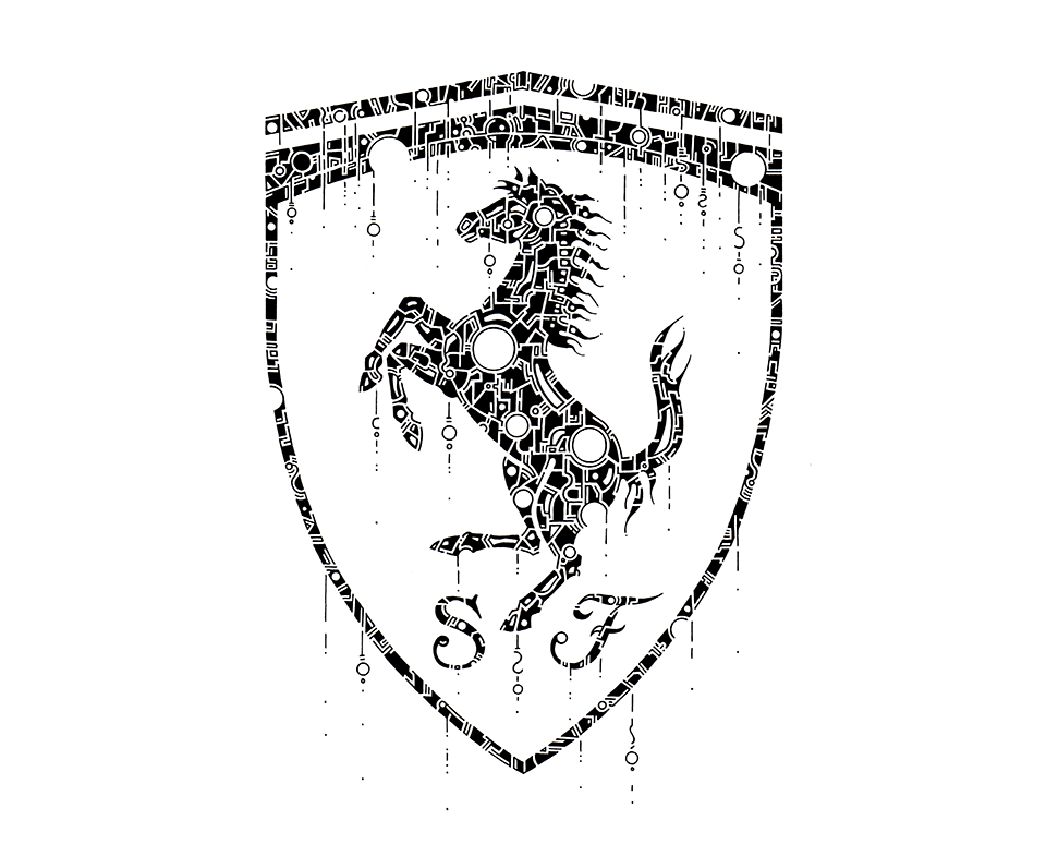 the ferrari logo by thomasontube on deviantart