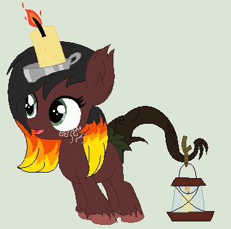 DOLL-Fire Candle by PizzaLover-Pony
