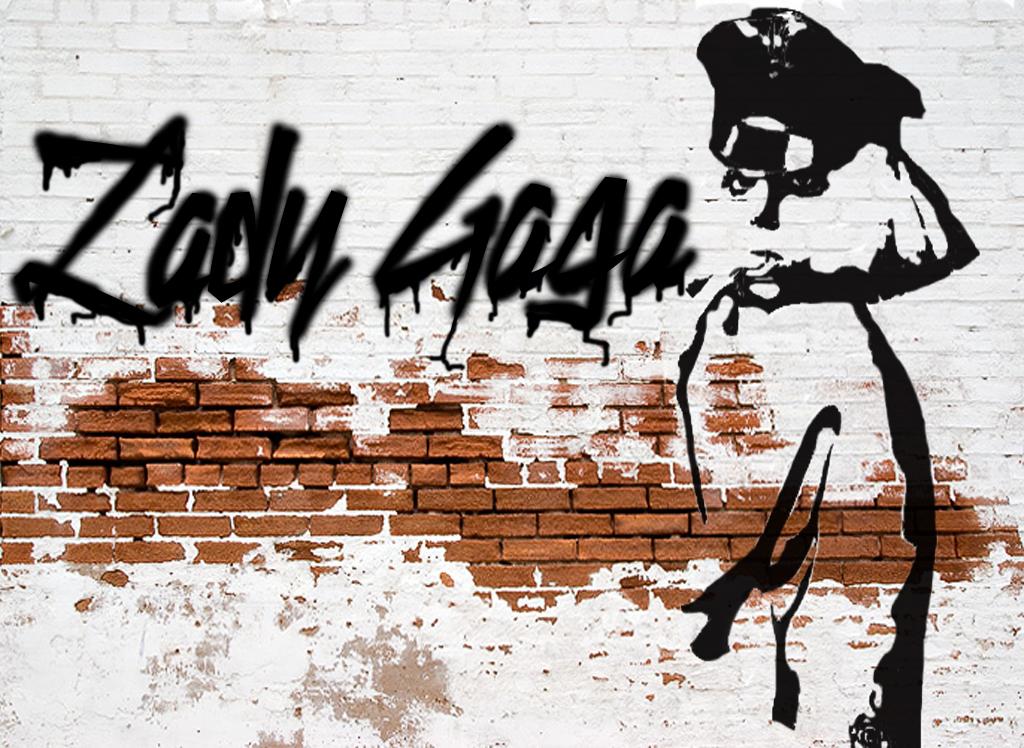 Gaga+Banksy by tomdavidwilson92