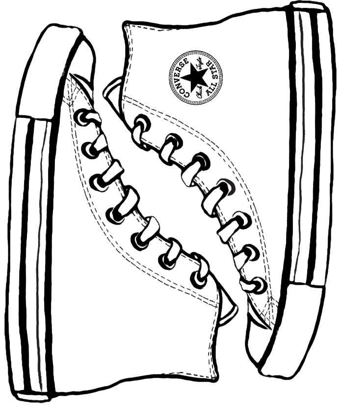 Converse template by Tuck3rd on DeviantArt