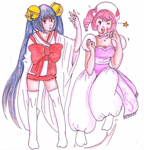 Chobits Sumomo And Kotoko By Lanalesty