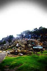 The Stairs of Tangkuban Summit by yudhabastard