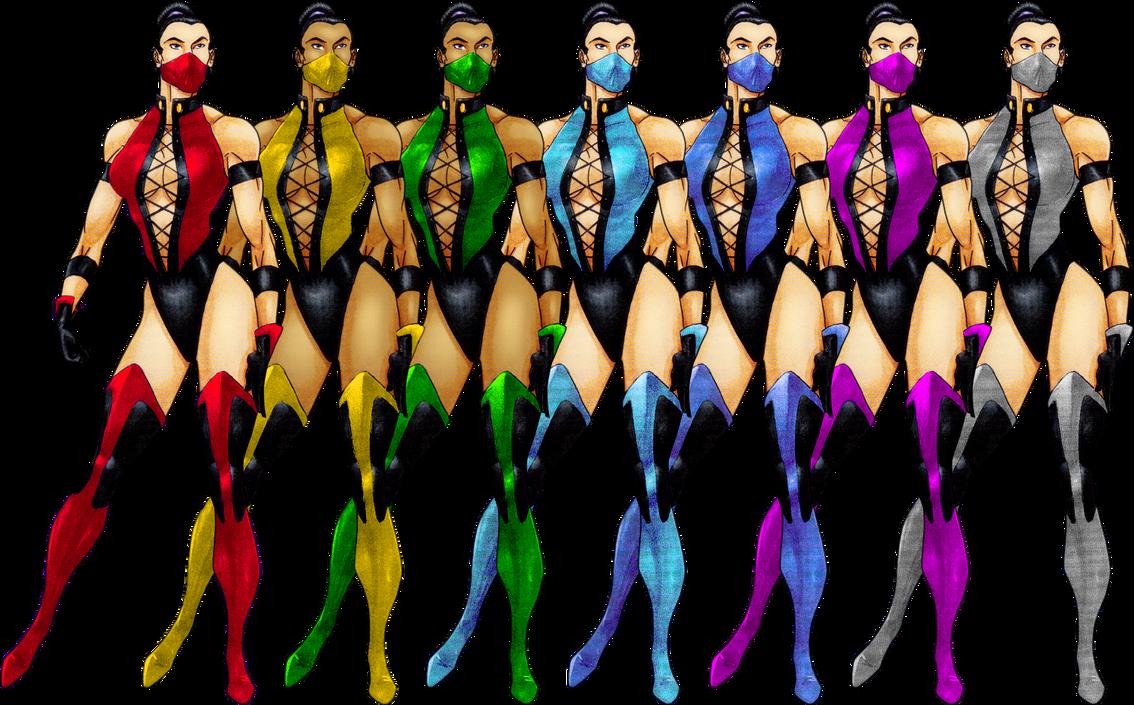 Female Ninjas 2D by ChamKham on DeviantArt