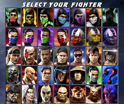 Mortal Kombat Full Characters by ChamKham on DeviantArt