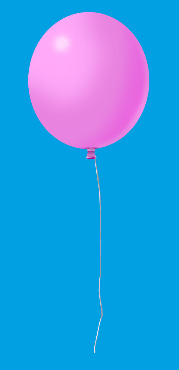The Pink Balloon by Joy-Joyful