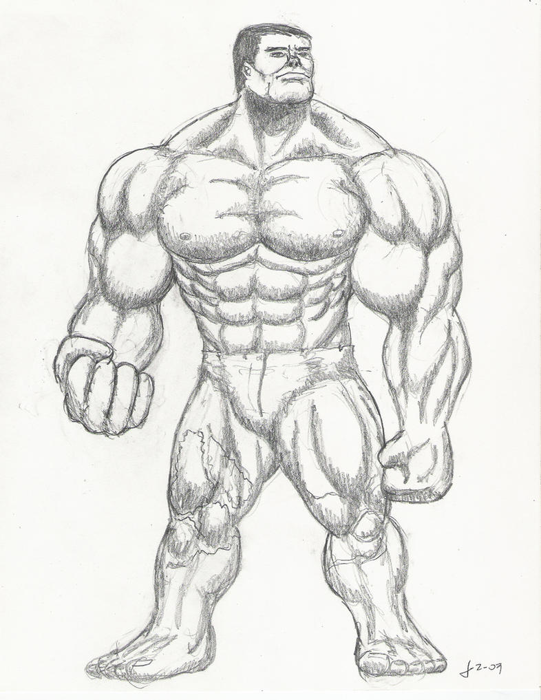 the incredible ... The Incredible Hulk Sketch