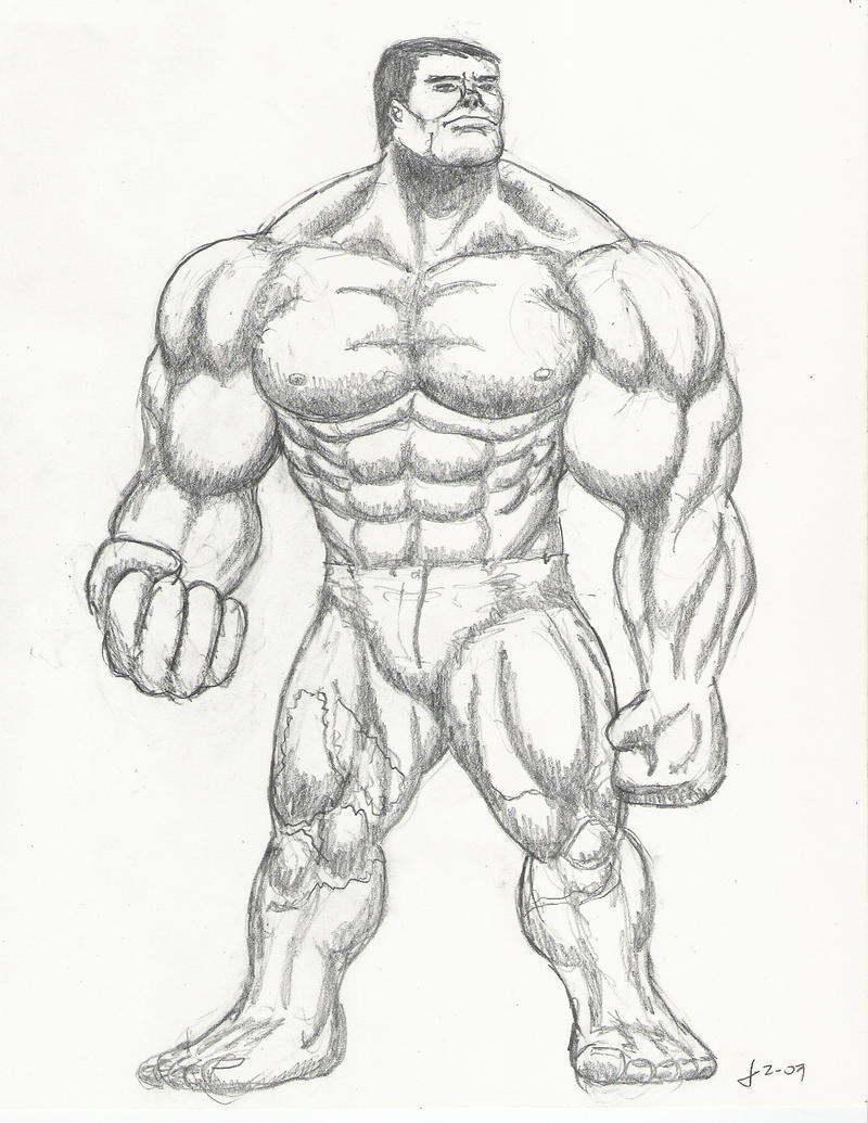 The Incredible Hulk By Chimera335 On DeviantArt
