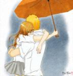 IchiHime - feel me in the rain