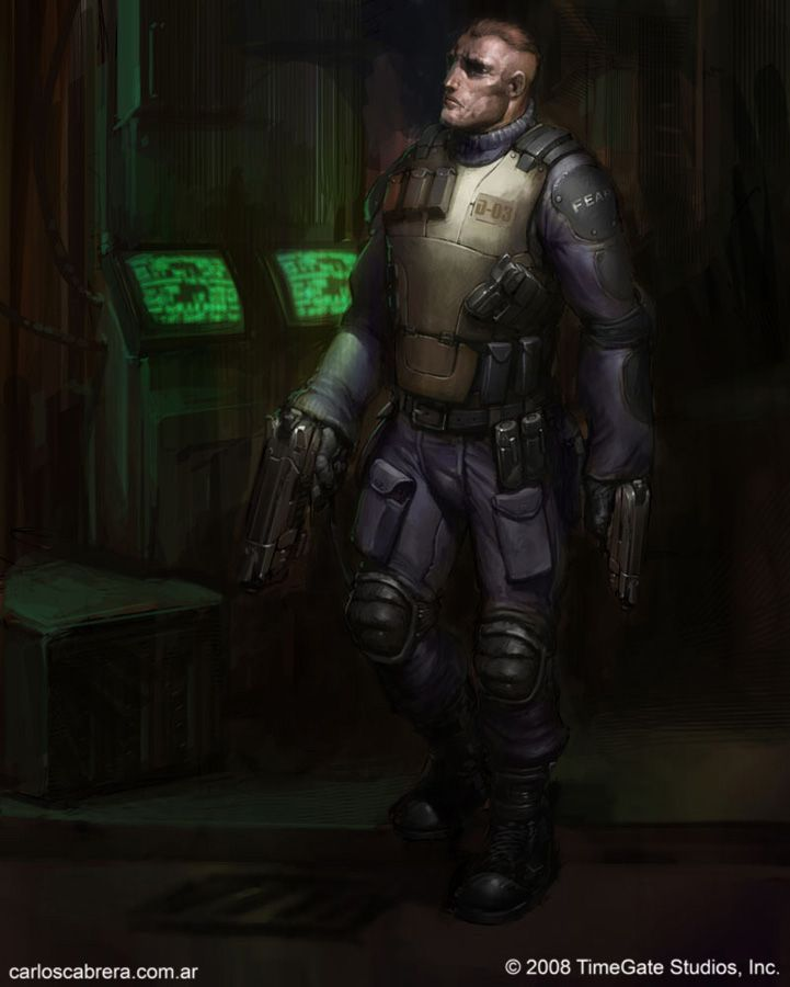 F.E.A.R character 4 by artbycarlos