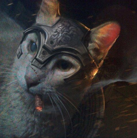 Battle Cat by artbycarlos