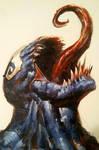 Venom - Acrylic painting